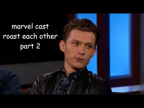 avengers cast roast each other | part 2