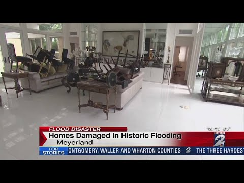 Meyerland homes hit hard again after flooding in Houston