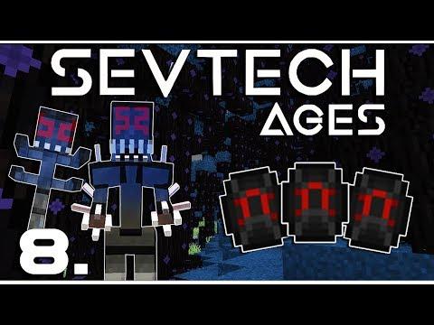 Minecraft - SevTech: Ages - A sötét erdő, sötét lényei... [Shadow Gem vadászat]  - 8.rész letöltés