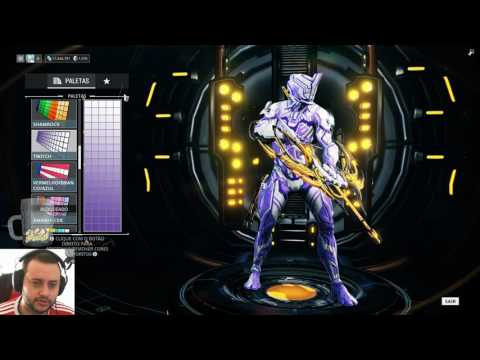[Warframe] Pacote Skin Prominence - Twitch