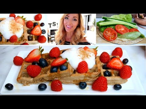WHAT I ATE TODAY ★ VEGAN WAFFLES