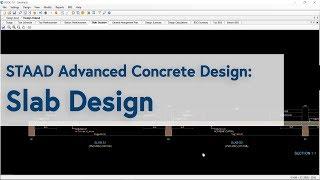 STAAD Advanced Concrete Design: Slab Design