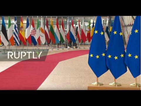 Special European Council discusses long-term EU budget: arrivals