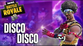 Disco Disco! Fortnite Battle Royale Gameplay - Ninja