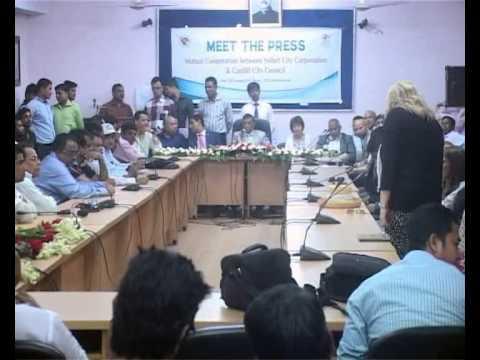 Meet the Press 'Cardif depute Mayor & Sylhet City Corporation Mayor'