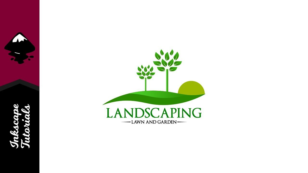 landscaping logo lawn and garden