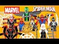 Marvel's Spider-Man Universe w/ Backplate Arms & Accessories Unofficial LEGO Minifigures