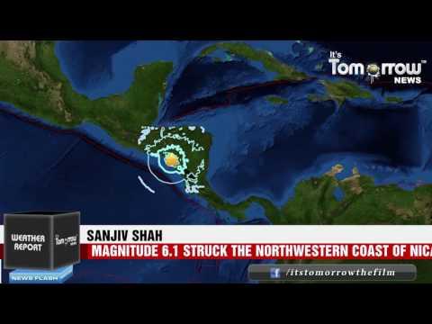 Strong Earthquake Jolted Nicaragua, El Salvador and Honduras