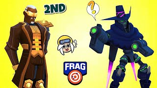 NEW (TOP 5) OVERPOWERED HEROES IN #FRAG PRO SHOOTER