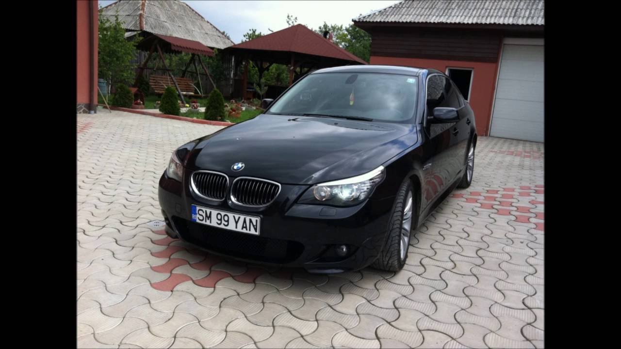 All BMW Models 2008 bmw series 5 Bmw Serie 5 e60 525 3.0L Facelift 2008 - YouTube