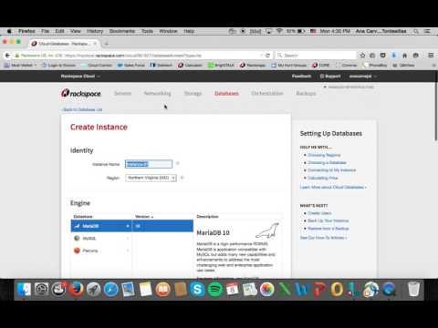 Rackspace Cloud Databases - Español