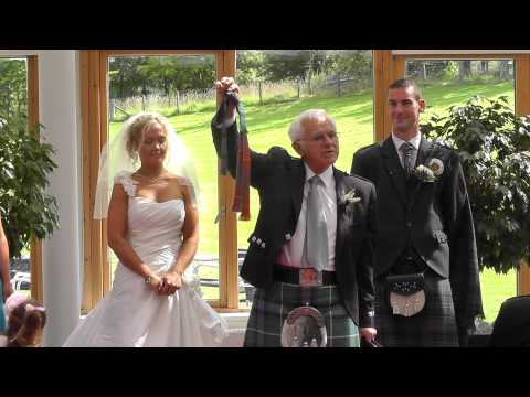 Wedding DVD Trailer of Claire & Martin Pitcairn @ Stirling Management Centre