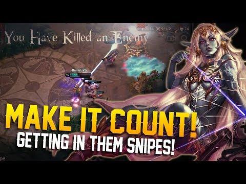 MAKE THE SHOT COUNT!! Vainglory 5v5 Gameplay - Kestrel |WP| Top Lane Gameplay