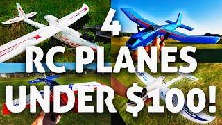 4 FUN & CHEAP RC Planes Under $100!