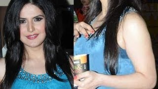 Zarine Khan Hot Thunder Underarms