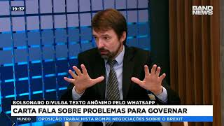 Schüler: Bolsonaro divulga texto anônimo pelo WhatsApp