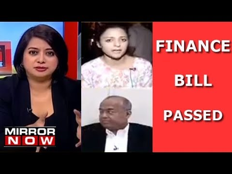 Finance Bill Passed, Attempt To Wash Away Decades of Sin?   The Urban Debate