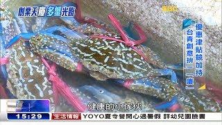 兩岸小吃大PK 台灣青年「蟹露」創意《海峽拚經濟》