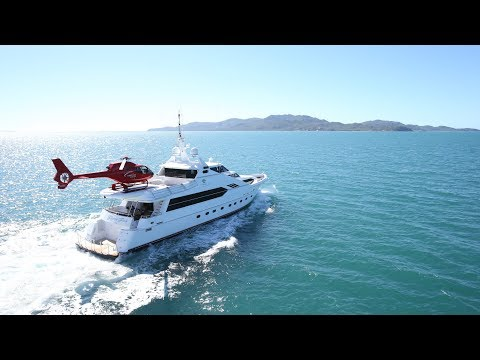 Luxury Yachts Along The Queensland Coast  - M.Y. Flying Fish