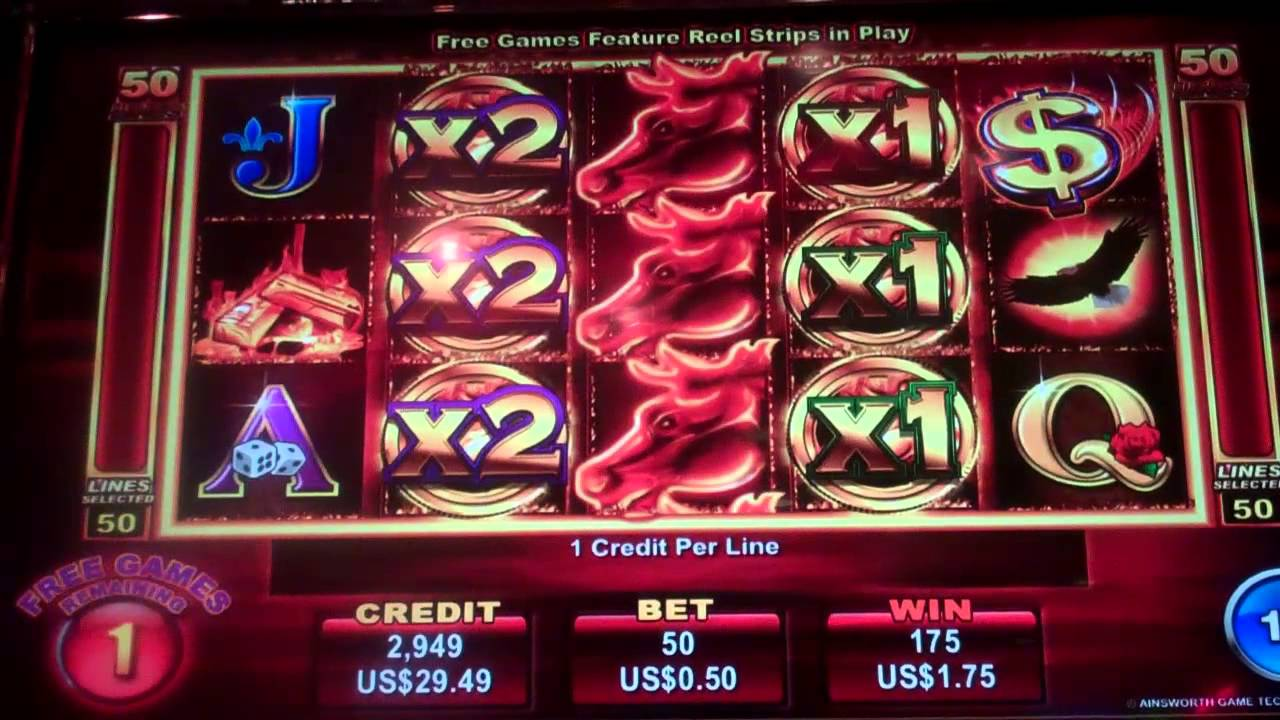 Mustang slot machine online