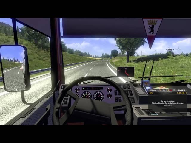 #478 Lets Play Euro Truck Simulator 2 - E3 - Bald Asseto Corsa