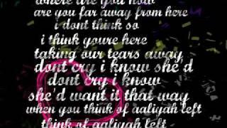 think of aaliyah(lyrics)