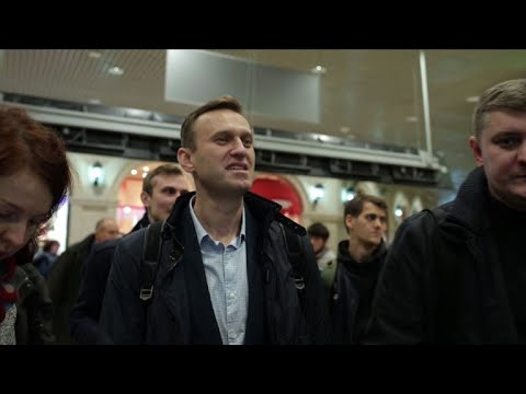 Russian opposition chief Navalny released from jail