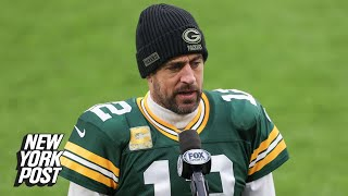 Aaron Rodgers lashes out at 'absolute horses–t' criticism about his offseason | New York Post