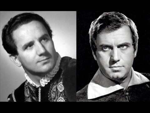 """""""È lui! desso, l'infante!"""" Bastianini-Labò, studio recording DG 1962."""