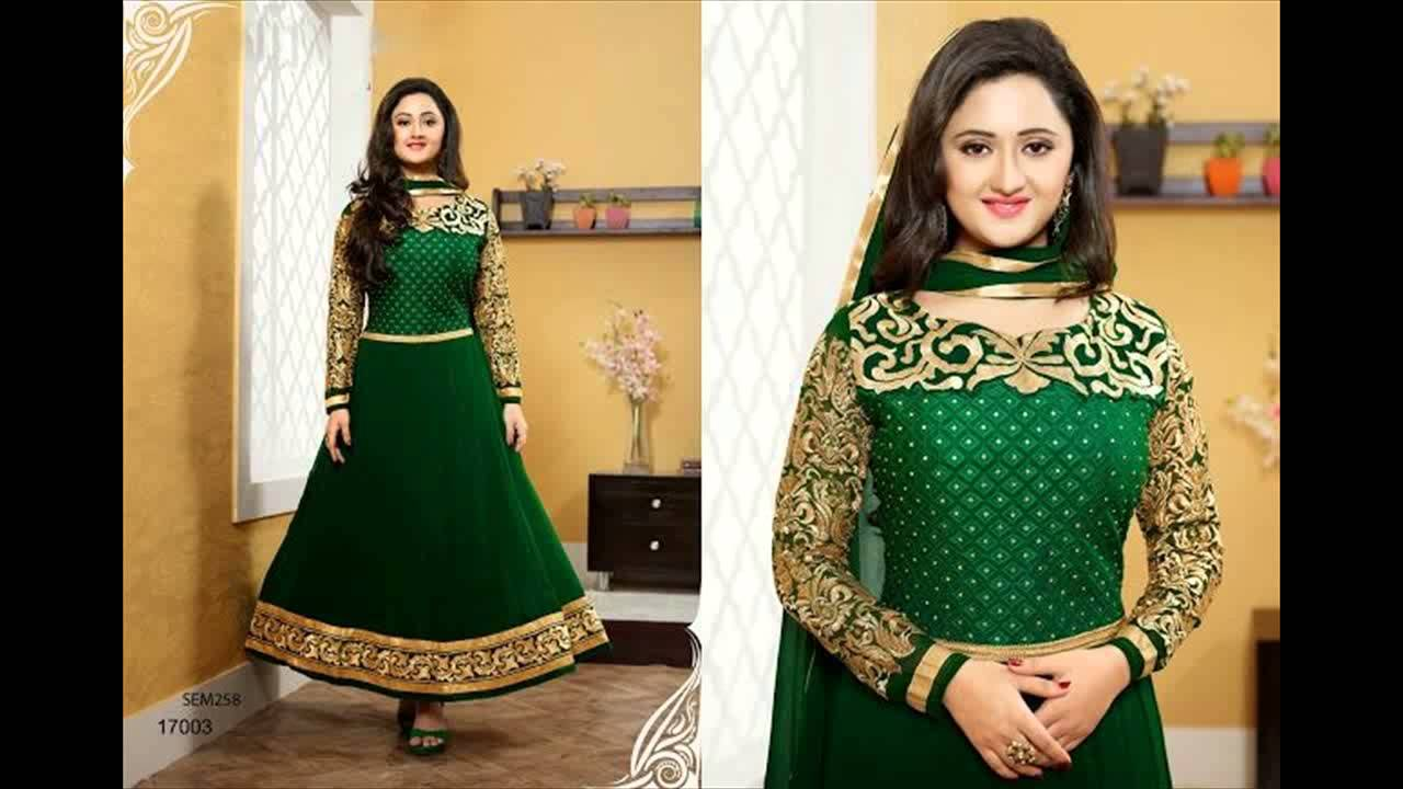 27ff9d2e5afb New Arrivals Designer Rashmi Desai Long Dresses For Women Anarkali Suit