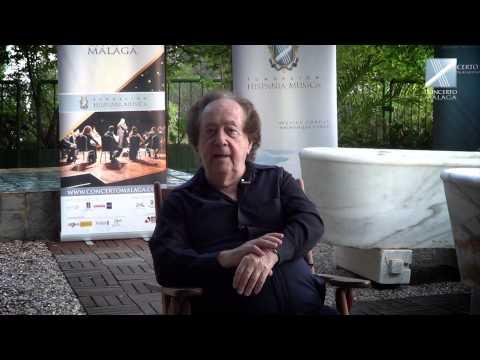 CONCERTO MÁLAGA PRESS La Entrevista - José Serebrier, director invitado