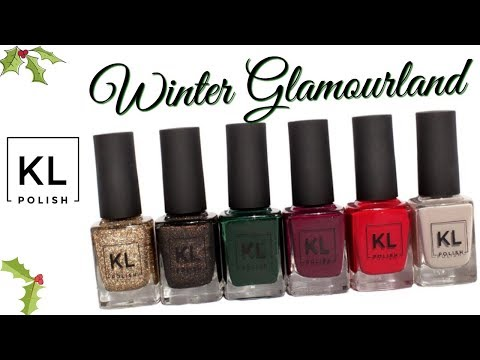 KL Polish by Kathleen Lights - Winter Glamourland! SWATCHES & FIRST IMPRESSIONS | Jen Luvs Reviews
