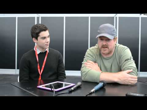 Adventure Time - John DiMaggio and Jeremy Shada interviewed at NYCC '13