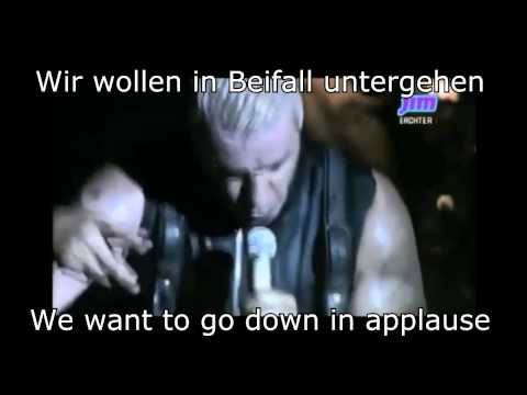 Ich Will - Rammstein Live at Rock Werchter 2013 w/ lyrics and translation
