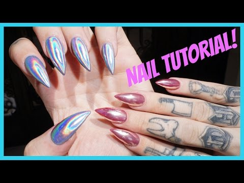 Thumbnail: CHROME & HOLOGRAPHIC NAILS: Step by Step Tutorial | Jeffree Star