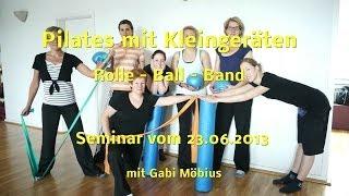 Pilates Seminar mit Kleingeräten - Rolle, Ball & Band