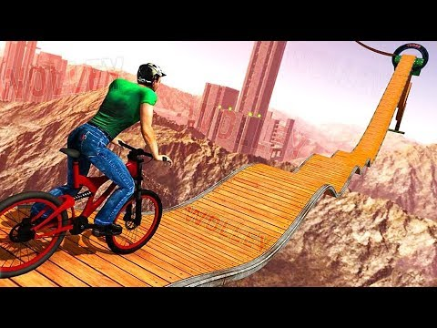 Impossible BMX Bicycle Stunts - Android Gameplay HD - Extreme Bike Stunts Games For Kids