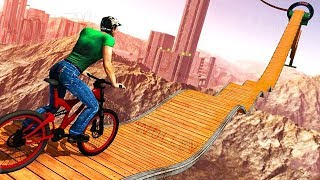 Gambar cover Impossible BMX Bicycle Stunts - Android Gameplay HD - Extreme Bike Stunts Games For Kids