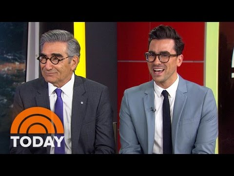 Eugene Levy And Son Daniel Talk About 'Schitt's Creek'  TODAY
