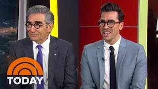 Eugene Levy And Son Daniel Talk About 'Schitt's Creek' | TODAY thumbnail