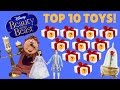 Top 10 Beauty and the Beast Toy Countdown - Best Toys From Disney's New 2017 Movie