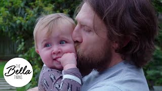 DADDY'S GIRL! Birdie and Daniel Bryan enjoy a backyard play session!