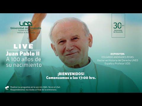Charla Juan Pablo II: 100 años de su nacimiento