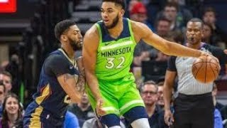 New Orleans Pelicans vs Minnesota Timberwolves NBA Full Highlights (13th January 2019)
