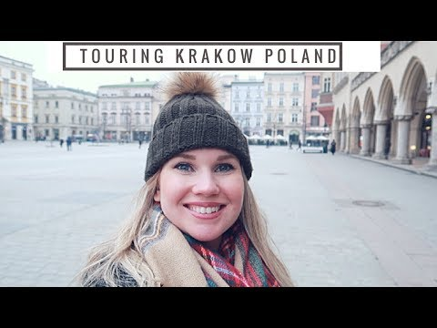A Tour of the BEAUTIFUL Krakow!| American girl in Poland