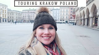 A Tour of tнe BEAUTIFUL Krakow!| American girl in Poland