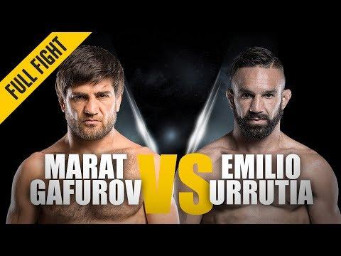 ONE: Full Fight | Marat Gafurov vs. Emilio Urrutia | Stunning Submission | April 2018