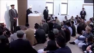 La première mosquée ahmadie d'Irlande - sermon du 26-092014