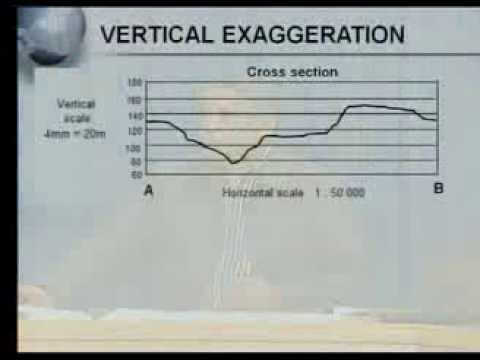 Matric revision: Geography: Map Work: Calculations (6/7): Vertical  Exaggeration