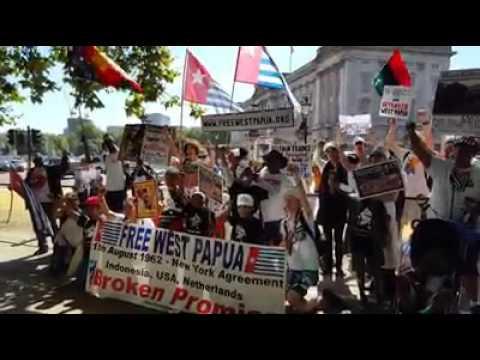 Solidaritas FreeWestPapua di London Menolak 2 NEW YORK AGREEMENT 1992